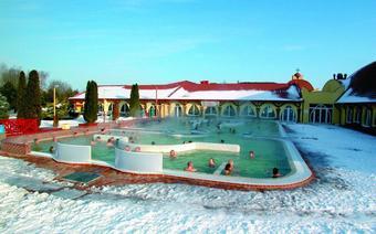Termy Słowacja - Velky Meder zimą