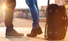 Pożegnanie na lotnisku