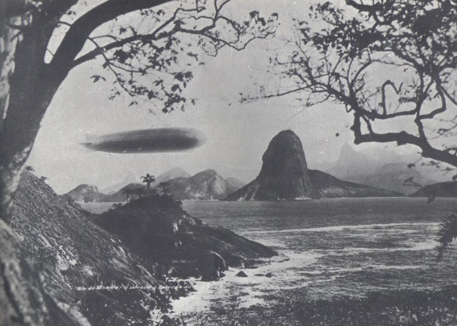 Graf Zeppelin nad Rio de Janeiro